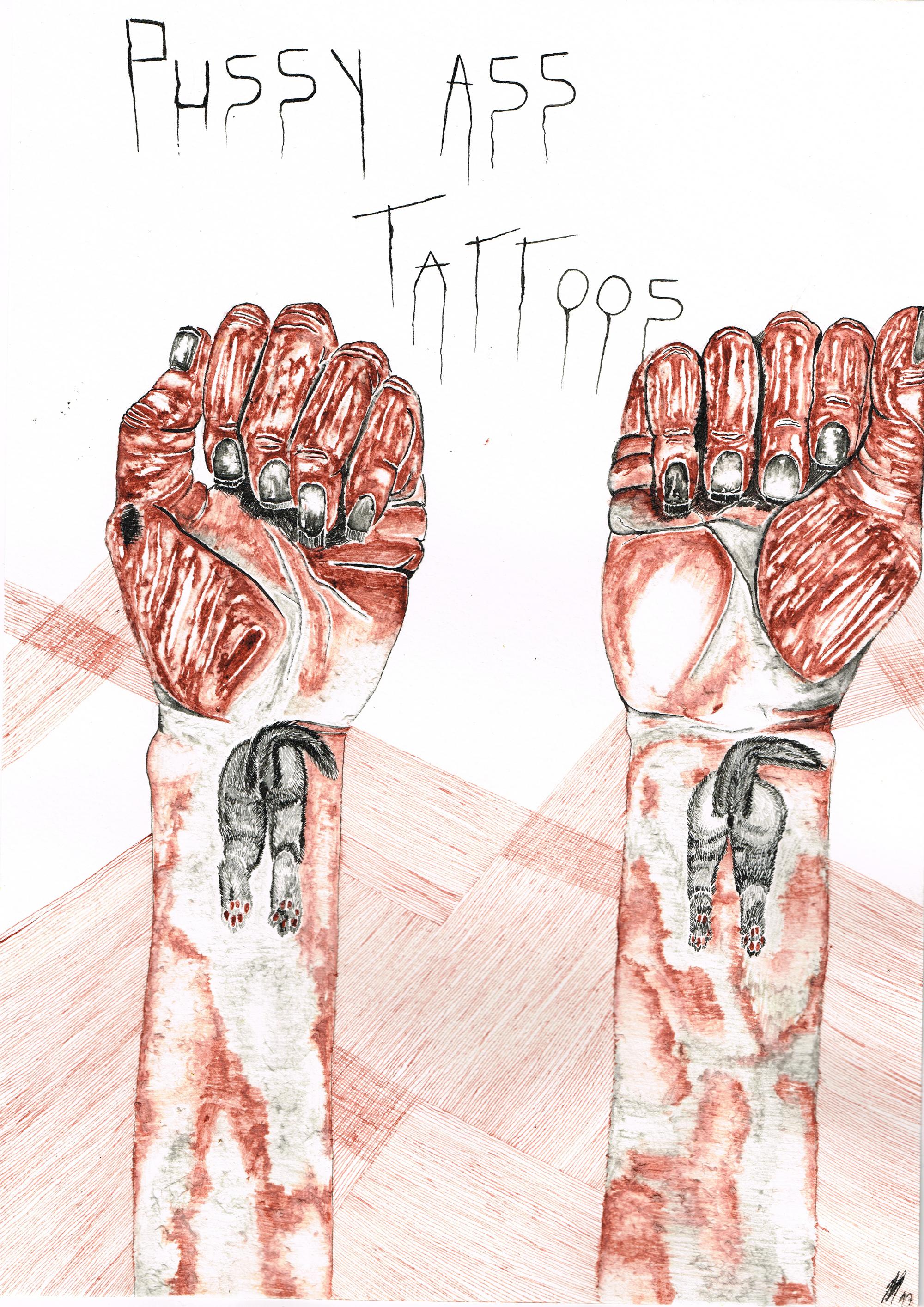 Pussy ass tattoos